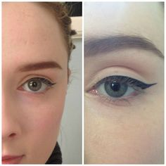 the almond eye eyeliner, helpfull for those with almond eyes, or want to achieve the shape.