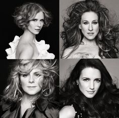 the ladies from SATC