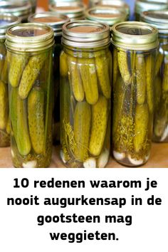 Pickels, Things To Know, Good To Know, Natural Health, Baking Soda, Cucumber, Natural Remedies, Food And Drink, Cooking Recipes