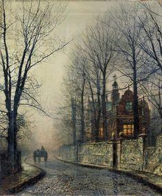 John Atkinson Grimshaw, November Moonlight