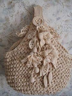 """"""" MOSSITA BELLA PATRONES Y GRÁFICOS CROCHET """": Bolsa a Crochet Bellísima, creo que así se teje???"""