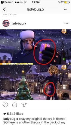 He might look like he only does his job to get paid but if this gift in Adrien's belt is from him he cares about our cinnamon roll