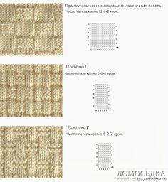 создание схем для вязания спицами