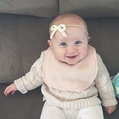 One of the best parts of my job is receiving gorgeous pics of your babes in our bows  : @emilieslittlelamb