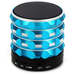 K2 Mini Bluetooth 2.1 Bass Speaker AUX:BiBset.com
