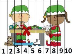 rompecabezas numericos para navidad (2)
