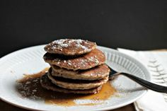 gluten free, dairy free & egg free cinnamon pancakes - Our Fifth House