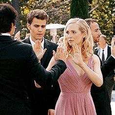 TVD - s08e09 - Stefan and Caroline