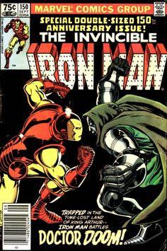 Iron Man #150, September 1981, cover by John Romita Jr, and Bob Layton.