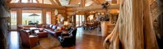 http://www.youtube.com/watch?feature=player_embedded&v=3FnopBwb6Ms Mount Shasta Log Home... WOW! :)