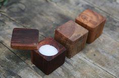 Salt Cellar w/ Lid – The Wooden Palate
