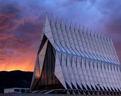 US Air Force Academy Cadet Chapel - Colorado Springs, CO --