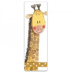 All our magnetic bookmarks measure x x x designed to clasp the page rather than mark it they make a perefct gift with a nice twist. Magnetic Bookmarks, Magnets, Paper Art, Giraffe, Gifts, Papercraft, Felt Giraffe, Presents, Giraffes