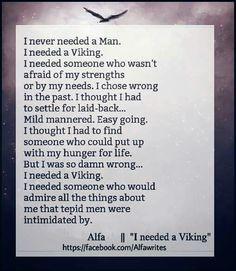 I need a viking
