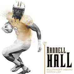 Rannell Hall can do it all. He's now up for the Biletnikoff Award which goes out to the best WR in the nation. Ucf Football, Ucf Knights, Going Out