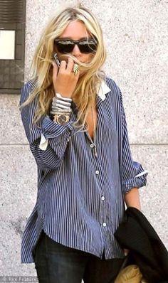 Boyfriend shirt by silvia