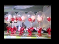 Ideas para hacer centros de mesa para cumpleaños http://ini.es/1CTymVM #CentrosDeMesa, #DecorarLaMesa, #IdeasParaCentrosDeFiesta, #MesaDeCumpleaños