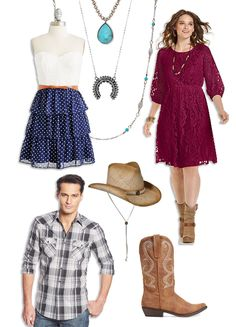 Find ideas for western party fashion including plaid shirts, jeans, cowboy and cowgirl hats and boots and more. Cowgirl Hats, Cowboy And Cowgirl, Party Sparklers, Wild West Party, Saloon Girls, Western Parties, Petticoats, Southern Charm, Party Fashion