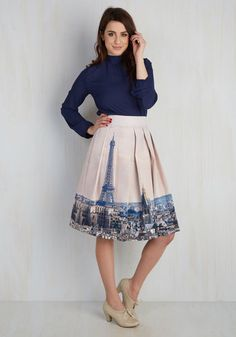 Fair is Worlds Fair Skirt $69.99 AT vintagedancer.com
