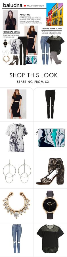"""Member Spotlight: Baludna"" by polyvore ❤ liked on Polyvore featuring Whistles, Balenciaga, Casetify, STELLA McCARTNEY, Laurence Dacade, Nixon, Topshop, adidas, Miu Miu and MemberSpotlight"