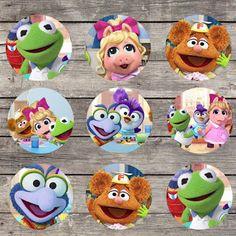 Backyard Birthday, Baby Birthday, 1st Birthday Parties, Birthday Party Decorations, Birthday Ideas, Muppet Babies, Baby Party, Baby Disney, Party Printables