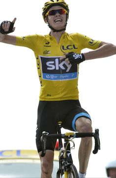 Froome winning on Ventoux