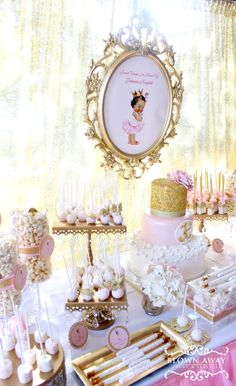 Princess Kaylah's Baby Shower | CatchMyParty.com