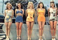 1940s bathing beauties!