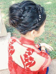 Traditional Braided Bun