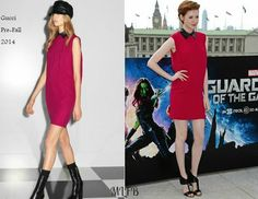 Karen Gillan In Gucci - 'Guardians Of The Galaxy' London Photocall. Re-tweet and favorite it here: https://twitter.com/MyFashBlog/status/492915385092411392/photo/1