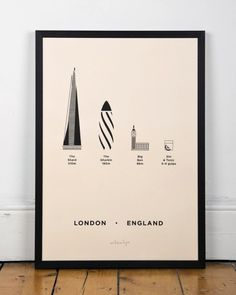 London City, Screen Print of London by Me&Him&You, Remodelista