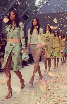 Burberry finale @ New York Fashion Week Spring 2014