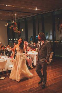 Sydney Museum of Contemporary Art Wedding Ruffled