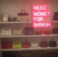 A tiny sneak peak into the Birkin closet I just finished for Kris Jenner. A glistening lacquered jewelbox-like room filled with Kris's amazing collection of beautiful bags. Blake Lively, Charlotte Olympia, Ferne Mccann, Rachel Stevens, Celebrity Closets, Celebrity Babies, Rochelle Humes, Home Organisation, Glam Room