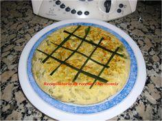 Tortilla de calabacín en thermomix