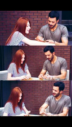 Çokda becerikliler Love Couple, Couple Goals, Elcin Sangu, Film Movie, Movies, Turkish Actors, Barista, Cute Couples, Gentleman