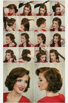 Pin up hair