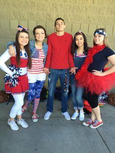 America day: spirit day idea