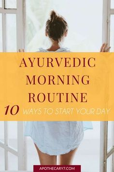 I'm so excited to share this Ayurvedic morning routine with all you wellness warriors. Developing a morning routine will change the quality of your day, and this post will give you lots of great ideas.