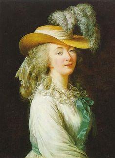 Madame du Barry, by Louise-Elisabeth Vigée-Lebrun.