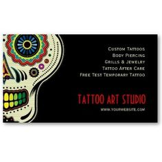 Modern Spartan tattoos business card | tattoos picture tattoo ...