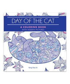 Look at this #zulilyfind! Day of the Cat: A Coloring Book with Hidden Pictures Paperback #zulilyfinds