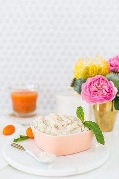 DIY vanilla orange mint body scrub recipe | sugar & cloth