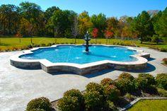 Allison Pools - Geometric Swimming Pool | by Allison Pools