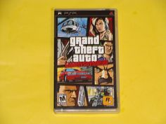 Sony PSP Grand Theft Auto Liberty City Stories 2005 Video Game Complete Manual Grand Theft Auto, Psp, Liberty, Video Game, Sony, Manual, Games, Freedom, Political Freedom