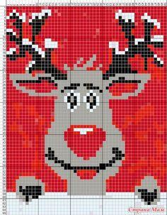 Как-то увидела в инете 2 взрослых свитера со смешными оленями и так захотелось связать, но т. к. я вяжу детям схема была слишком большая и вдруг в СМ я вижу детские свитера и схема маленькая.