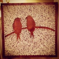 Lovebirds on a Wire