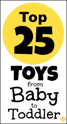 Top 25 Best Toys from Baby to Young Toddler (2013)