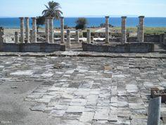 Foro de Baelo Claudia. Siglo I dc. Conjunto Arqueológico de Baelo Claudia. Bolonia. Cádiz
