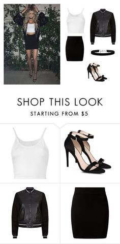 """Alissa Violet"" by outfitsbyqueen ❤ liked on Polyvore featuring Lost & Found, STELLA McCARTNEY, rag & bone, New Look and Miss Selfridge"